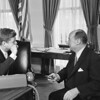 John F. Kennedy and Adlai Stevenson