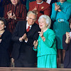 Barbara Bush Daughter Dorothy Leblond  and Rev. Billy Graham