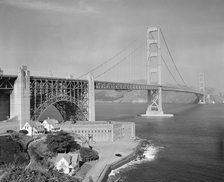 GOLDEN GATE BRIDGE 1958