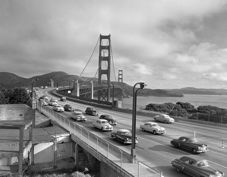 GOLDEN GATE BRIDGE 1940