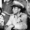 General Mohamed Naguib Bey   New Conference