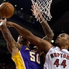 Lakers Raptors Basketball