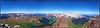 Panoramic view of Snowmass Mountain, Capitol Peak and the western Elks from Maroon Peak's summit