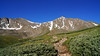 The east approach to Grays and Torreys Peaks, Colorado Front Range.