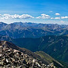 Mount Princeton and the southern Sawatch range from the Mt. Yale summit
