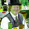 antique sale wizard of Vase in monday dave milne sept 29 01 Wearing his grandad's beaver top hat Bill Palmer alias The Wizard of Vase presided over his collection of antique glass vases at the 11th annual peden Hill Community Association antique fair Saturda at the Roller Dome.