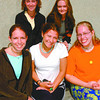 Sri Lanka youth Workers/Thursday Brent Braaten-May 1/2002  Back row left to right Kristin Johnson, Amber Alexander, front ror left to right Jessica Krahn, Joleen Farmer and Kerri Mooney.