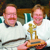 tom griffiths citizen of yr3 in monday dave milne oct 6 02 Tom Griffiths and wife Bev and 2002 Prince george Citizen of Year award