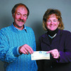 Cruisin' Classics CTC/Thursday Brent Braaten-Oct 23/2002  Jim Rose Coordinator Career Technical Centre (CTC) receives a cheque from Tammy LeDuke with Cruisin' Classics for $500. Cruisin' Classics CTC -partners in education helping students to suceed in the vCentral Interior Career Technical Centre.