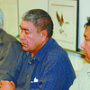 Native News Conference/Friday Brent Braaten-Nov 18/2004  George George councilor Nadleh Whut'en Band, Harry Pierre Chief Carrier Sekani Tribal Council and Michael Teegee Councilor Takla Lake Band.