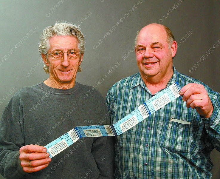 citizen grand prize winner in saturday dave milne feb 11 05 grand prize winner of Citizen Celebration on Ice contest Joe Horworth, left, and four tickets he won for Celebration on Ice presented by Guy Koops.