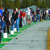 crowded golf driving range2 in monday dave milne march 12 05 crowded PGGCC driving range saturday
