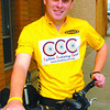 cyclist cancer survivor unbc in friday dave milne sept 1 05 cyclist and cancer survivor attemding unbc for Bernice story.