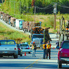 Blackwater Road traffic was blocked most of the day Tuesday after a collision between a southbound dumptruck and a loaded northbound logging truck. Both lanes were finally opened at 5PM. Blackwater traffic, Wednesday, David Mah