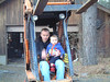 On the forklift with Daddy!