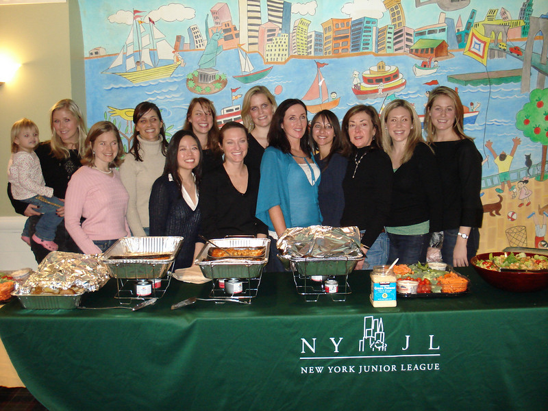 The Women's Cancer Prevention Committee at the Ronald McDonald House; February 9, 2008.