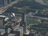 Millenium Park from the top of the Sears Tower