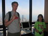 Brandon & Beck on top of the Sears Tower