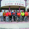 Citizen staff photo  Ten members of the Punjabi Culture Club took to the road Saturday to cycle 130 kilometres to Quesnel to raise money to combat cancer. The idea was to promote health and wellness to the younger generation as well as contributing to a good cause.