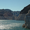 Hoover Dam from Lake Mead
