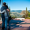 Qing and Blake being all cute at Hearst Castle