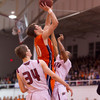 Wheaton College Men's Basketball vs North Central (58-75) at North Central/ CCIW Championship Game