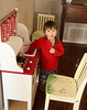Merry Christmas, Luke & Eleanor! A play kitchen to share from your parents.