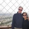 Brandon & Quinn at the top of the Eiffel Tower