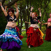 The Tornado Sirens Belly Dancing Troupe perform at Botanica's Tuesday on the Terrace