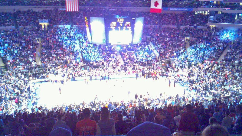 NYC Weekend April 8, 2012 Knicks v Chicago Bulls at Madison Square Garden