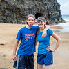 Jared and Lillian at Hanakapi'ai Beach