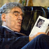 Relaxed: Elliott Gould browses the program for the CANDLES Holocaust Museum and Education Center 7th Annual Fall Reception prior to the start of the fundraising event.