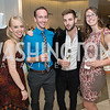 Nicole Haskins, Zachary Hackstack, Dan Roberge, Christina Golubski. Saks and Washington Ballet Red Valentino Fall 2012 Shopping Party. Photo by Alfredo Flores. Saks Chevy Chase. September 13, 2012