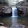 Day 327 - 22 November 2012<br /> Little Stoney Falls in Southwest Virginia.  A nice short hike on Thanksgiving Day.