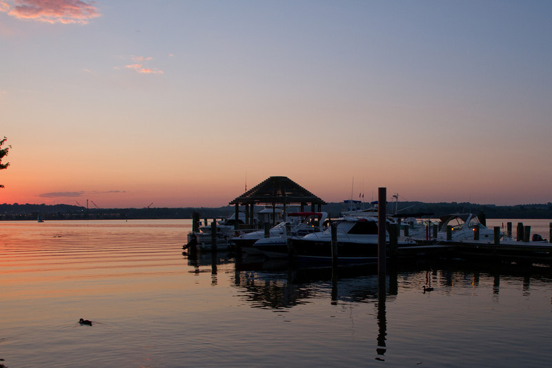 Day 180 - 28 June 2012<br /> Sunrise over the Potomac River