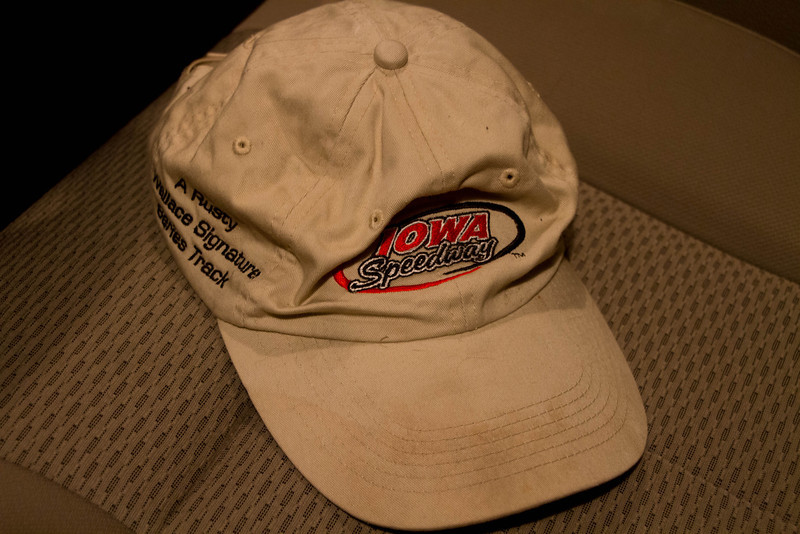 Day 51 - 20 February 2012<br /> Between it being Speed Weeks in Daytona and us having a nice early spring rain, my hat is ready to come out.  Probably a little early though, first race at the Iowa Speedway is in May this year.