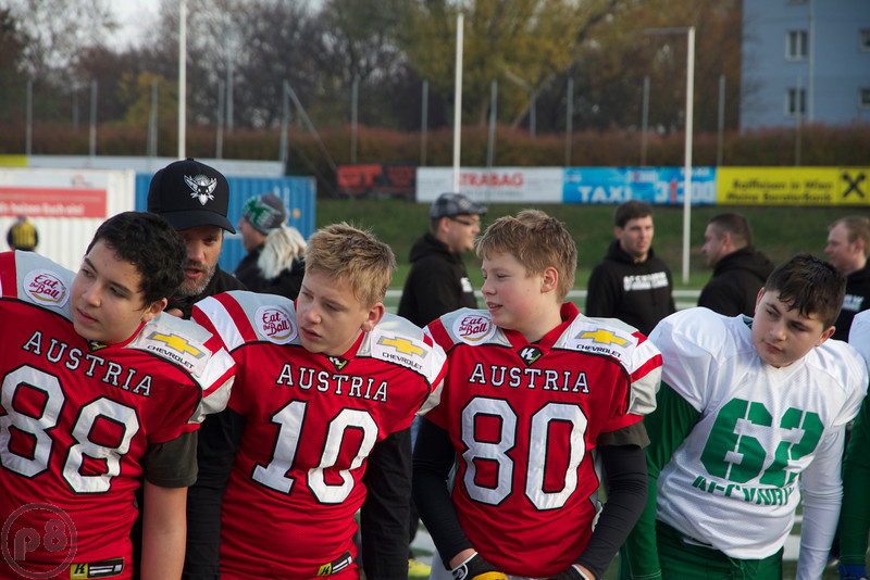2013, AFBÖ, AFCV NRW, American Football, Bowl, GreenMachine, Minis, Next Generation, Team Austria, U13, Youth