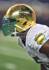 NCAA FOOTBALL: OCT 05 Notre Dame vs Arizona State