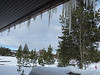 Look at those icicles at Snow Lodge