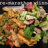 2013 NYC Marathon Pre Race Carbo Loading