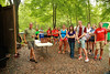 2013 Fall Orientation Events at Broyhill Adventure Course.