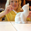 Pottery painting on Amelia's day off