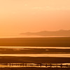 Day's End at the Great Salt Lake