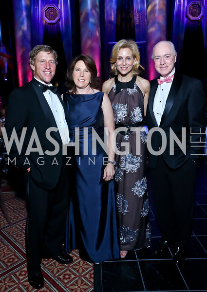 Stan and Joey Sloter, Katherine and David Bradley. Photo by Tony Powell. 2013 CharityWorks Dream Ball. October 5, 2013