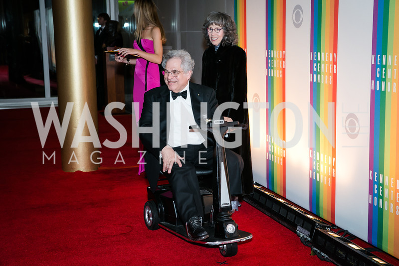 Itzhak Pearlman. Photo by Alfredo Flores. 2013 Kennedy Center Honors. Kennedy Center. December 8, 2013.
