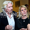 Sir Richard Branson and Joan Branson. Photo by Tony Powell. 4th Annual Climate Leadership Gala. Mayflower Hotel. May 22, 2013