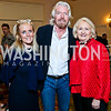 Debbie Dingell, Sir Richard Branson, Melanne Verveer. Photo by Tony Powell. 4th Annual Climate Leadership Gala. Mayflower Hotel. May 22, 2013