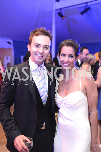 Tommy McFly, Kelly Collis, 5th Anniversary Ball on the Mall. Saturday, May 4, 2013.  Photo by Ben Droz.