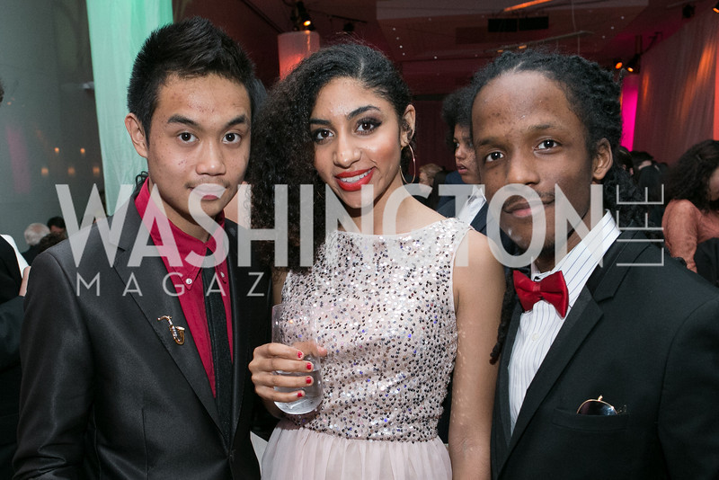 Rocky Garcia, Dominique Evans, Allen Price. DC-CAPital Stars Talent Competition at Kennedy Center Eisenhower Theatre. Kennedy Center Eisenhower Theater. March 27, 2013