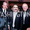 Jim Abdo, Bob Hisaoka, Dick Patterson. Photo by Tony Powell. 2013 Fight Night. Hilton Hotel. November 14, 2013